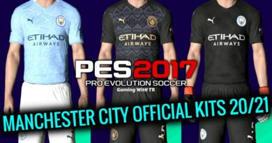 PES 2017 | MANCHESTER CITY OFFICIAL KITS 2020/2021 | DOWNLOAD & INSTALL