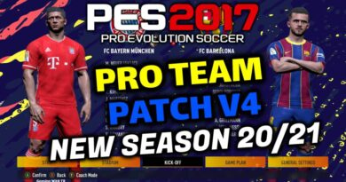 PES 2017 | PRO TEAM PATCH V4 | NEW SEASON 20/21 | DOWNLOAD & INSTALL
