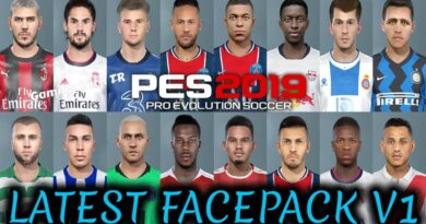 PES 2019 | LATEST FACEPACK V1 | DOWNLOAD & INSTALL