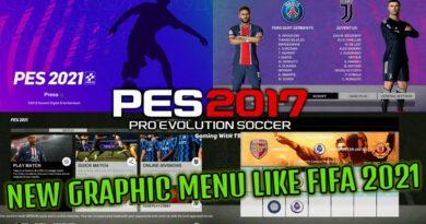 PES 2017 | NEW GRAPHIC MENU LIKE FIFA 2021 | DOWNLOAD & INSTALL