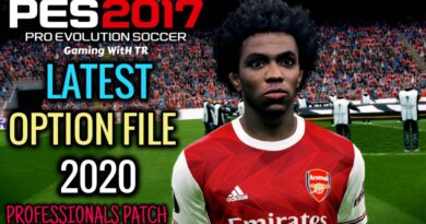 PES 2017   LATEST OPTION FILE 2020   PROFESSIONALS PATCH   DOWNLOAD & INSTALL