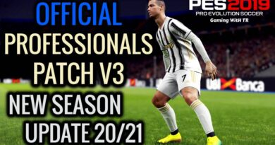 PES 2019   OFFICIAL PROFESSIONALS PATCH V3   NEW SEASON UPDATE 20/21   ALL IN ONE   DOWNLOAD & INSTALL