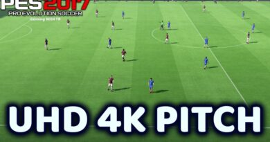 PES 2017 | UHD 4K PITCH | DOWNLOAD & INSTALL