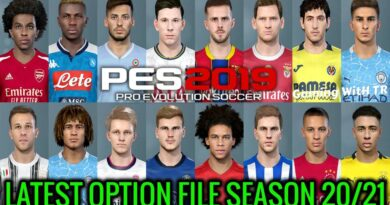 PES 2019 | LATEST OPTION FILE SEASON 20/21 | SMOKE PATCH | DOWNLOAD & INSTALL
