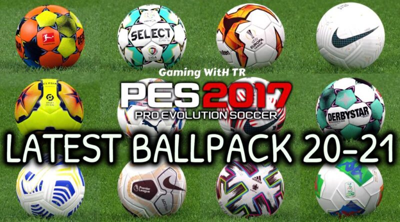 PES 2017 | LATEST BALLPACK 20-21 | DOWNLOAD & INSTALL