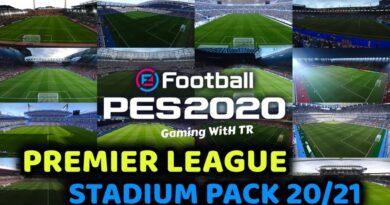 PES 2020 | PREMIER LEAGUE STADIUM PACK 20/21 | SEASON UPDATE 20/21 | DOWNLOAD & INSTALL