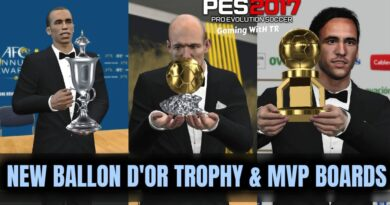 PES 2017 | NEW BALLON D'OR TROPHY & MVP BOARDS | DOWNLOAD & INSTALL