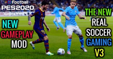 PES 2020   NEW GAMEPLAY MOD   THE NEW REAL SOCCER GAMING V3   DOWNLOAD & INSTALL