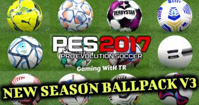 PES 2017 | NEW SEASON BALLPACK V3 | SEASON UPDATE 20/21 | DOWNLOAD & INSTALL