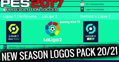 PES 2017 | NEW SEASON LOGOS PACK 20/21 | ALL IN ONE | DOWNLOAD & INSTALL