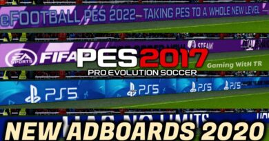 PES 2017   NEW ADBOARDS 2020   FIFA 21   PES 2022   PS5   COMBINATION PACK   DOWNLOAD & INSTALL