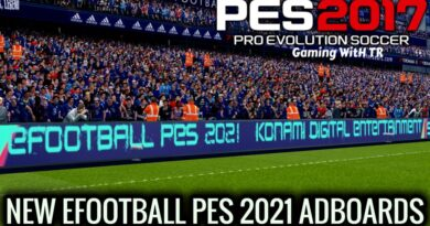 PES 2017 | NEW EFOOTBALL PES 2021 ADBOARDS | UNOFFICIAL VERSION | DOWNLOAD & INSTALL