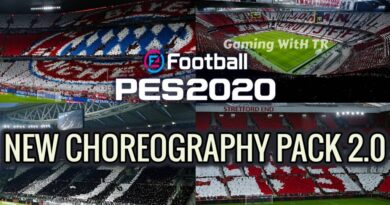 PES 2020   NEW CHOREOGRAPHY PACK 2.0   SEASON UPDATE 20-21   DOWNLOAD & INSTALL