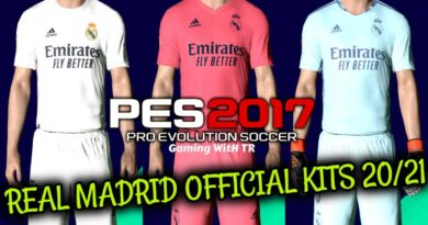 PES 2017 | REAL MADRID OFFICIAL KITS 2020/2021 | DOWNLOAD & INSTALL