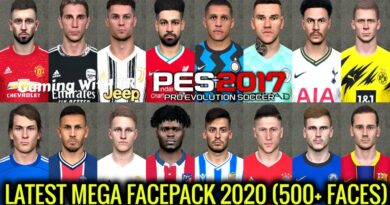 PES 2017 | LATEST MEGA FACEPACK 2020 | 500+ FACES | ALL IN ONE | DOWNLOAD & INSTALL