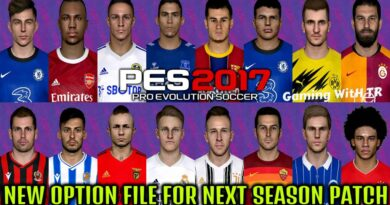PES 2017 | NEW OPTION FILE FOR NEXT SEASON PATCH | AUGUST FINAL UPDATE 2020 | DOWNLOAD & INSTALL