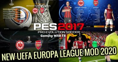PES 2017   NEW UEFA EUROPA LEAGUE MOD 2020   SEASON UPDATE 20/21   DOWNLOAD & INSTALL