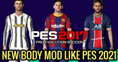 PES 2017 | NEW BODY MOD LIKE PES 2021 | SEASON UPDATE 20-21 | DOWNLOAD & INSTALL
