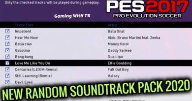 PES 2017 | NEW RANDOM SOUNDTRACK PACK 2020 | DOWNLOAD & INSTALL