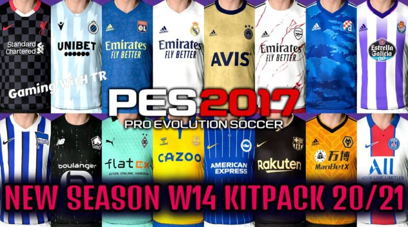 PES 2017 | NEW SEASON KITPACK 2020/2021 | ALL IN ONE V14 | DOWNLOAD & INSTALL