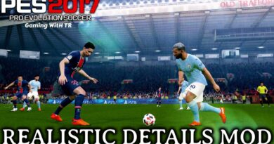 PES 2017 | REALISTIC DETAILS MOD | DOWNLOAD & INSTALL