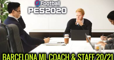 PES 2020   BARCELONA ML COACH & STAFF 20/21   DOWNLOAD & INSTALL