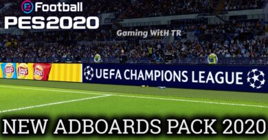 PES 2020   NEW ADBOARDS PACK 2020   EVOWEB PATCH V8   ALL IN ONE   DOWNLOAD & INSTALL