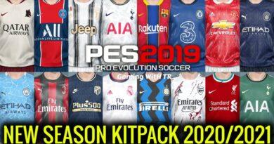 PES 2019 | NEW SEASON KITPACK 2020/2021 | DOWNLOAD & INSTALL