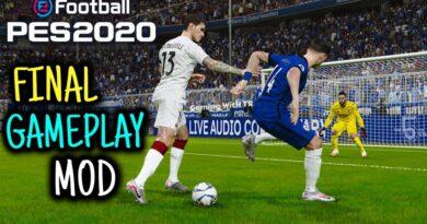 PES 2020   FINAL GAMEPLAY MOD   SEASON UPDATE 20-21   DOWNLOAD & INSTALL