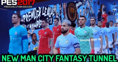 PES 2017 | NEW MAN CITY FANTASY TUNNEL | DOWNLOAD & INSTALL