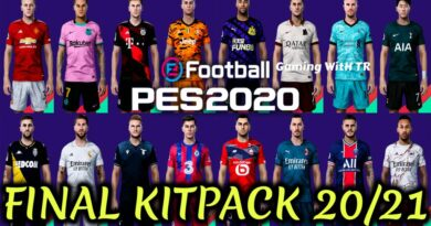 PES 2020   NEW SEASON FINAL KITPACK 2020/2021   ALL IN ONE   DOWNLOAD & INSTALL