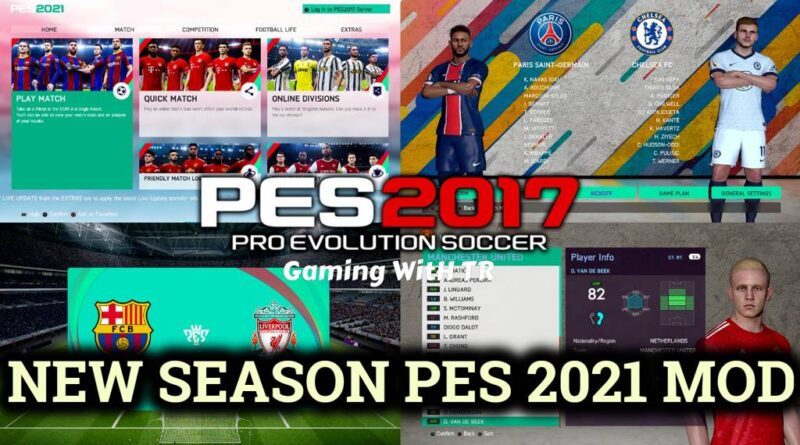 PES 2017 | NEW SEASON PES 2021 MOD 20-21 | DOWNLOAD & INSTALL