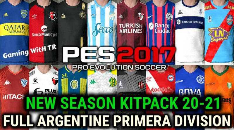 PES 2017 | NEW SEASON KITPACK 20-21 | FULL ARGENTINE PRIMERA DIVISION | DOWNLOAD & INSTALL