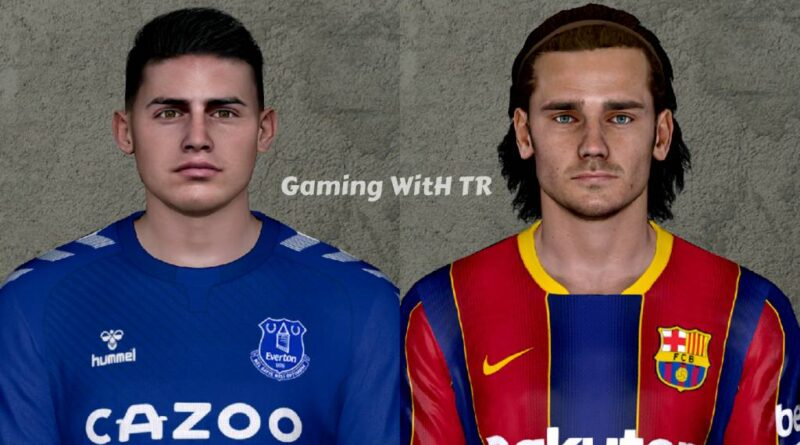 PES 2017 | JAMES RODRIGUEZ & ANTOINE GRIEZMANN | LATEST LOOK 2020 | DOWNLOAD & INSTALL