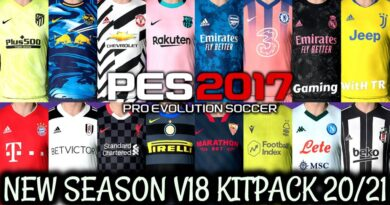 PES 2017 | NEW SEASON KITPACK 2020/2021 | ALL IN ONE V18 | DOWNLOAD & INSTALL