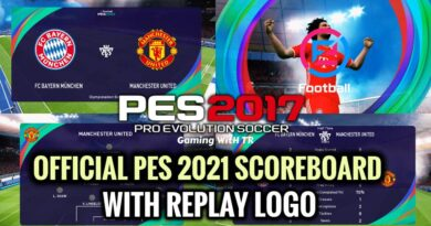 PES 2017   OFFICIAL PES 2021 SCOREBOARD WITH REPLAY LOGO   DOWNLOAD & INSTALL