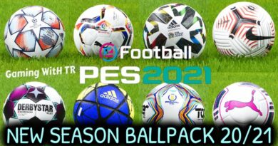 PES 2021 | NEW SEASON BALLPACK 20/21 | 325+ BALLS V1 | DOWNLOAD & INSTALL