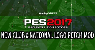 PES 2017 | NEW CLUB & NATIONAL LOGO PITCH MOD | DOWNLOAD & INSTALL