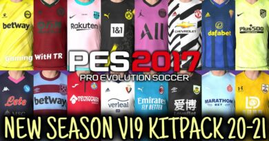 PES 2017 | NEW SEASON KITPACK 2020/2021 | ALL IN ONE V19 | DOWNLOAD & INSTALL