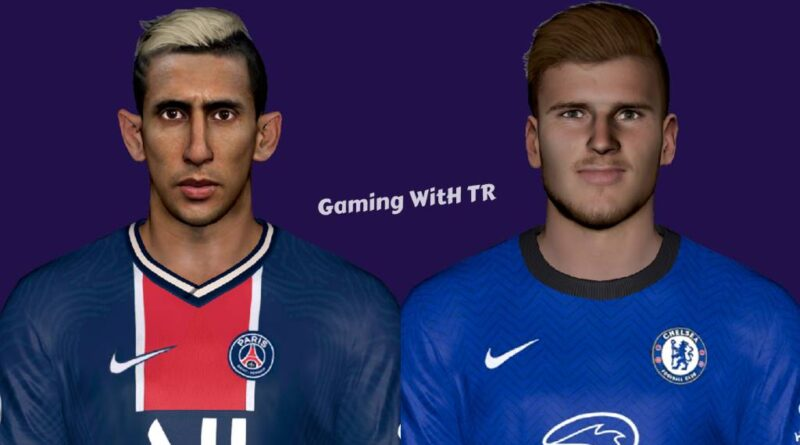 PES 2017   ANGEL DI MARIA & TIMO WERNER   LATEST LOOK 2020   DOWNLOAD & INSTALL