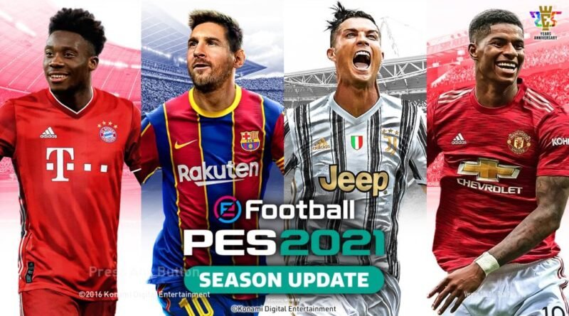 PES 2017 | COMPLETE PES 2021 GRAPHIC MENU | DOWNLOAD & INSTALL