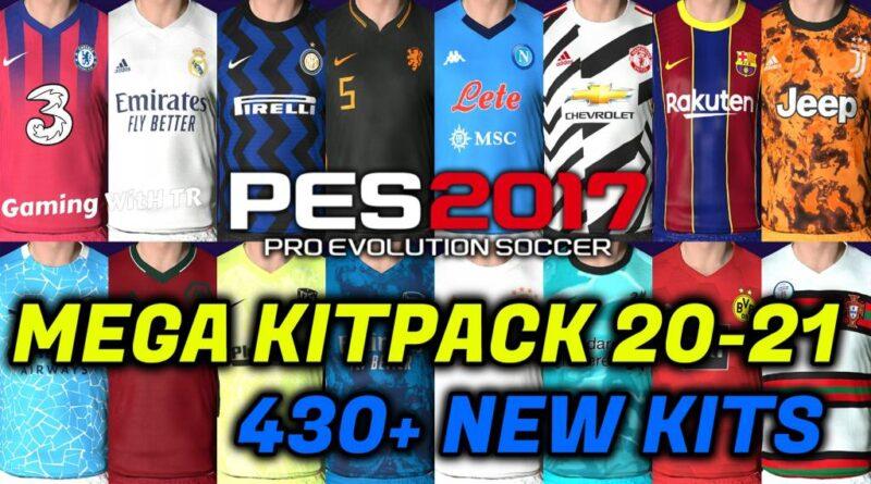 PES 2017 | MEGA KITPACK 20-21 | 430+ NEW KITS V7 | DOWNLOAD & INSTALL