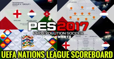 PES 2017 | UEFA NATIONS LEAGUE SCOREBOARD | DOWNLOAD & INSTALL
