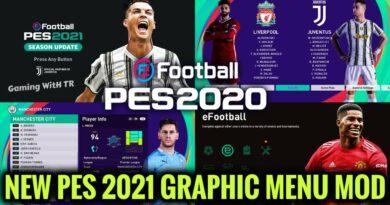 PES 2020 | NEW PES 2021 GRAPHIC MENU MOD | SEASON UPDATE 20-21 | DOWNLOAD & INSTALL