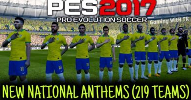PES 2017 | NEW NATIONAL ANTHEMS PACK | 219 TEAMS | DOWNLOAD & INSTALL