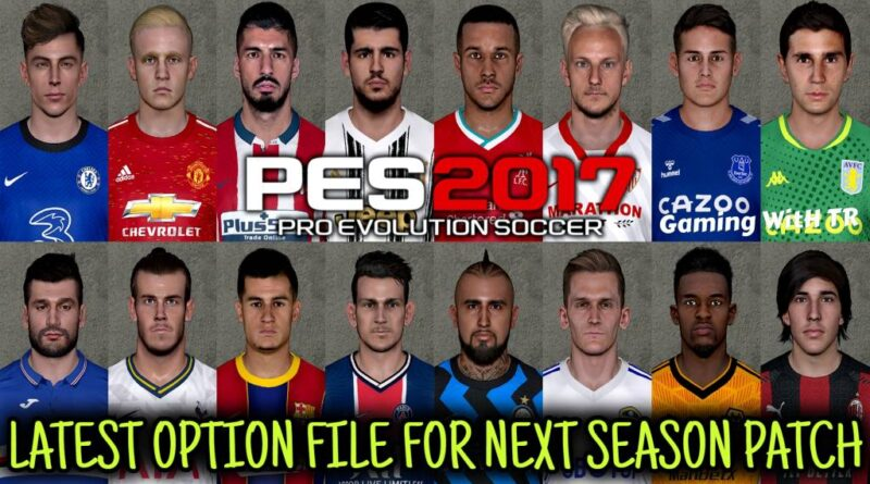 PES 2017 | LATEST OPTION FILE 20-21 | NEXT SEASON PATCH | SEPTEMBER UPDATE | DOWNLOAD & INSTALL