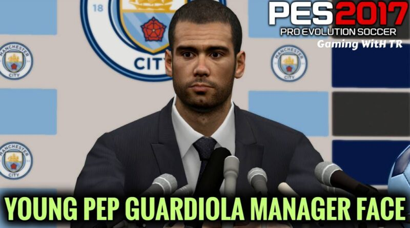 PES 2017 | YOUNG PEP GUARDIOLA | PES 2021 MANAGER FACE | DOWNLOAD & INSTALL