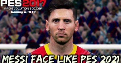 PES 2017 | NEW LIONEL MESSI FACE LIKE PES 2021 | DOWNLOAD & INSTALL