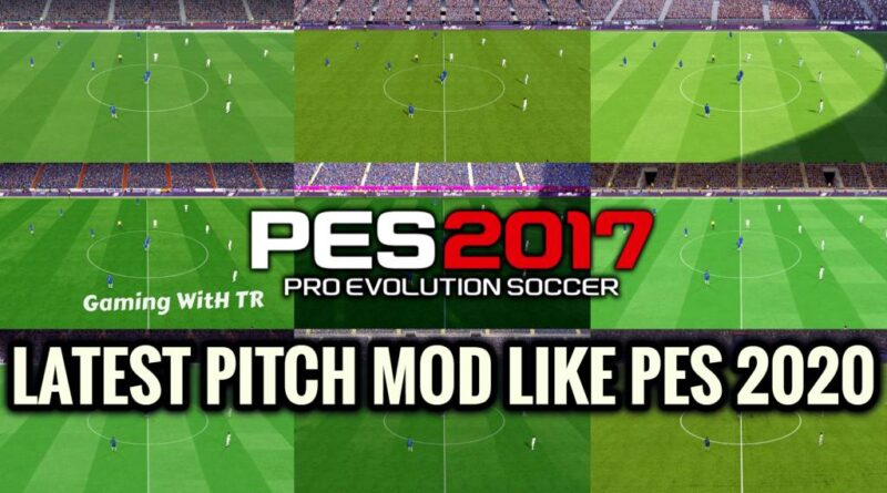 PES 2017 | LATEST PITCH MOD LIKE PES 2020 | DOWNLOAD & INSTALL