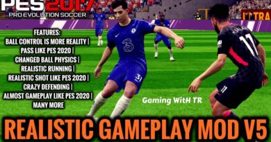 PES 2017 | REALISTIC GAMEPLAY MOD V5 | DOWNLOAD & INSTALL